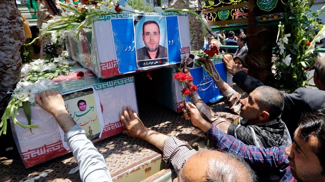 iran mournes afp