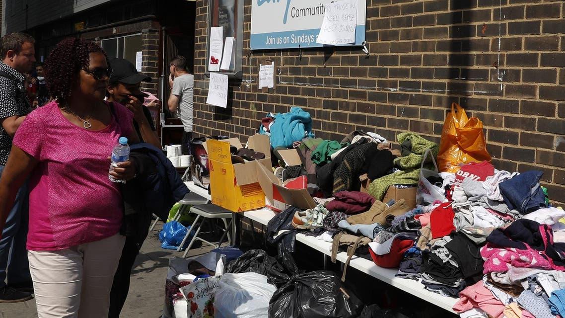 london clothes afp