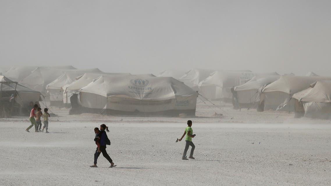 Raqqa camp syria