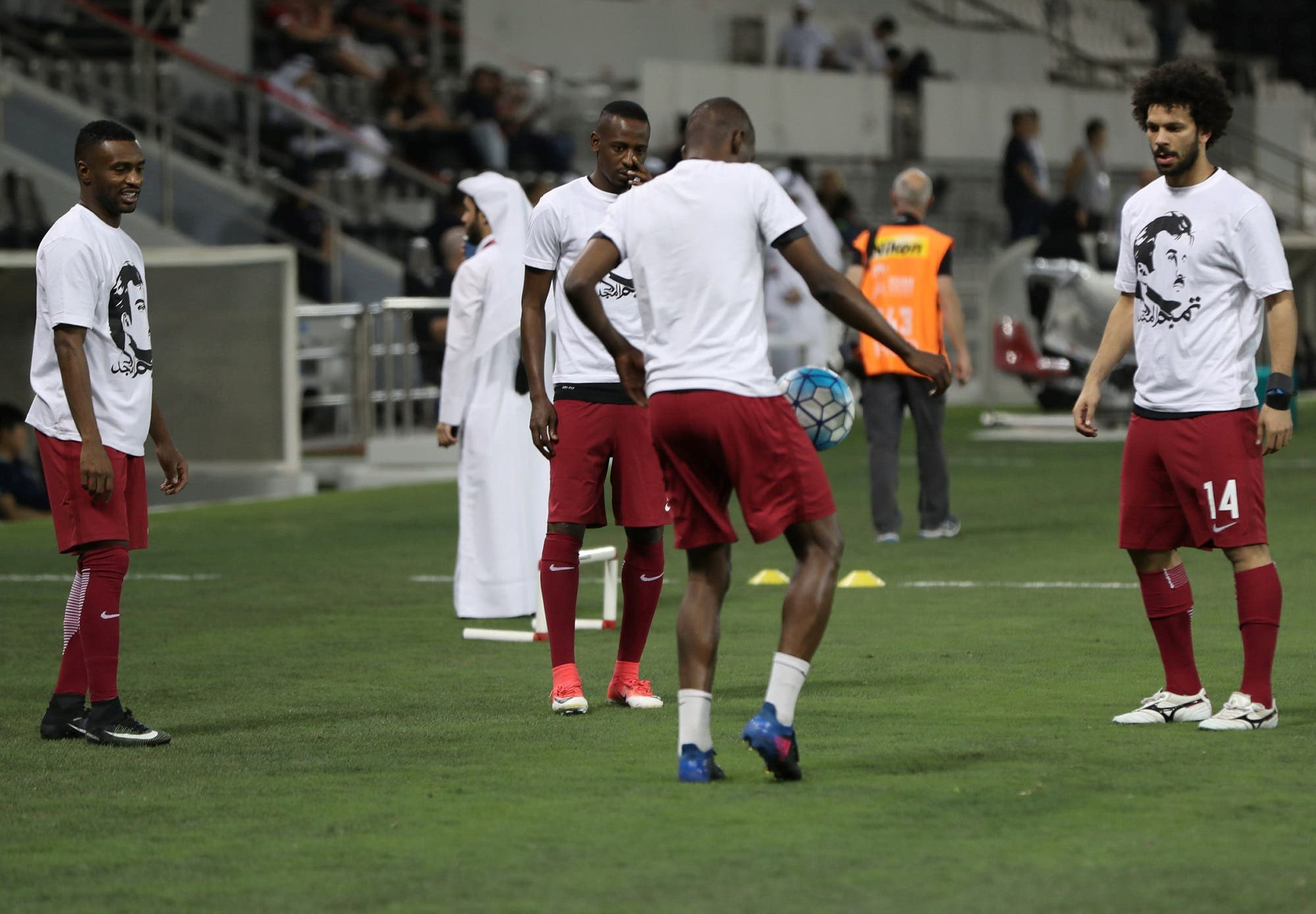 qatar players reuters