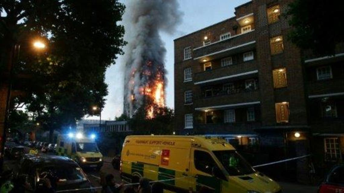 من حريق لندن