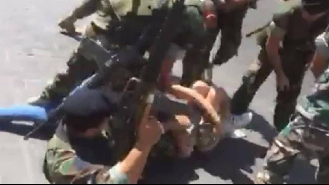 اعتداء أمام البرلمان اللبناني