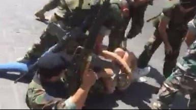 """هذا """"الفيديو العنيف"""" صور في لبنان.. وأمام قبة البرلمان"""