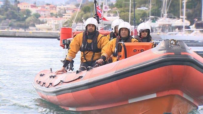 العربية ترافق فرق الإنقاذ في بحر إيجه للبحث عن قوارب اللاجئين
