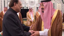 صدر ممنون حسین کے اعزاز میں شاہ سلمان کی دعوت افطار