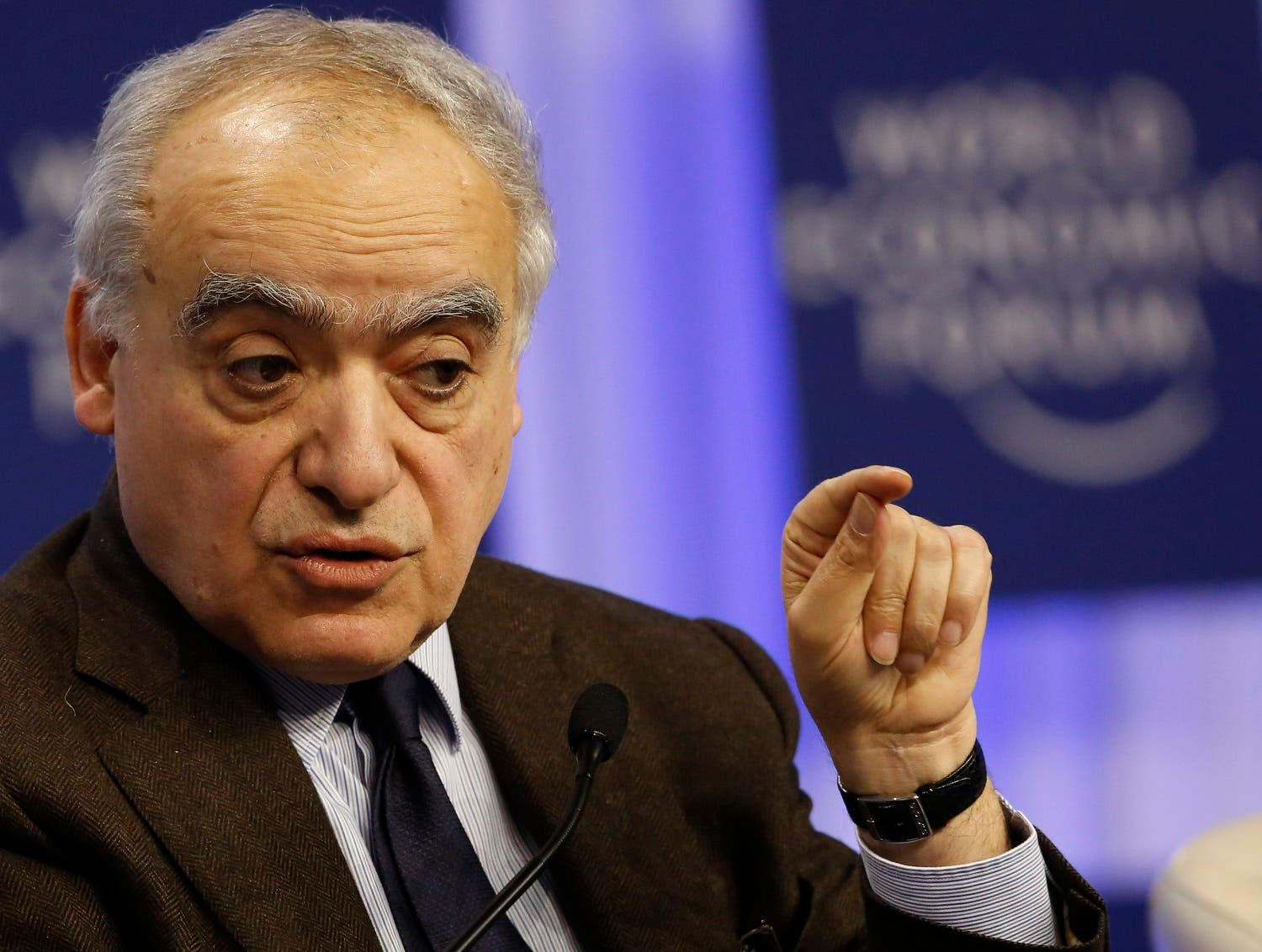 Guterres on Friday officially put forward Ghassan Salame, a professor of International Relations and Conflict Resolution at Sciences-Po in Paris. (Reuters)