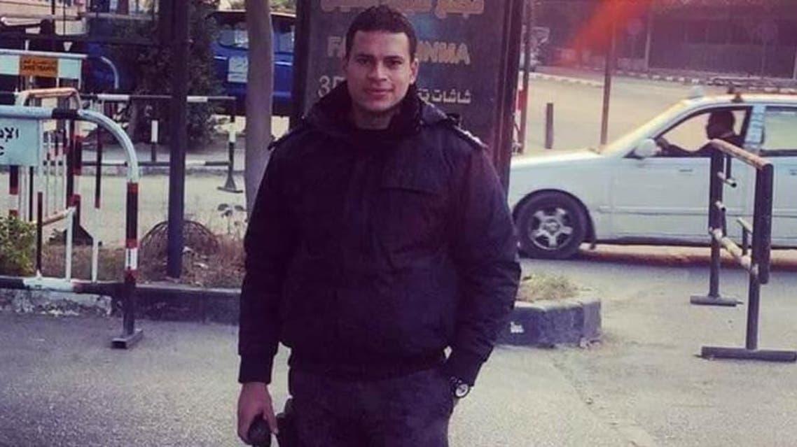 ضابط مصري القتيل