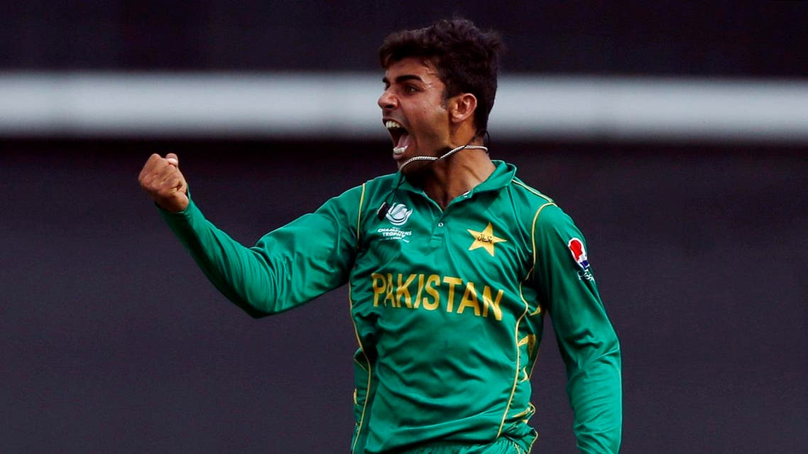 Britain Cricket - Pakistan v India - 2017 ICC Champions Trophy Final - The Oval - June 18, 2017 Pakistan's Shadab Khan celebrates after Sarfraz Ahmed caught out India's Kedar Jadhav Action Images via Reuters / Andrew Boyers Livepic EDITORIAL USE ONLY.