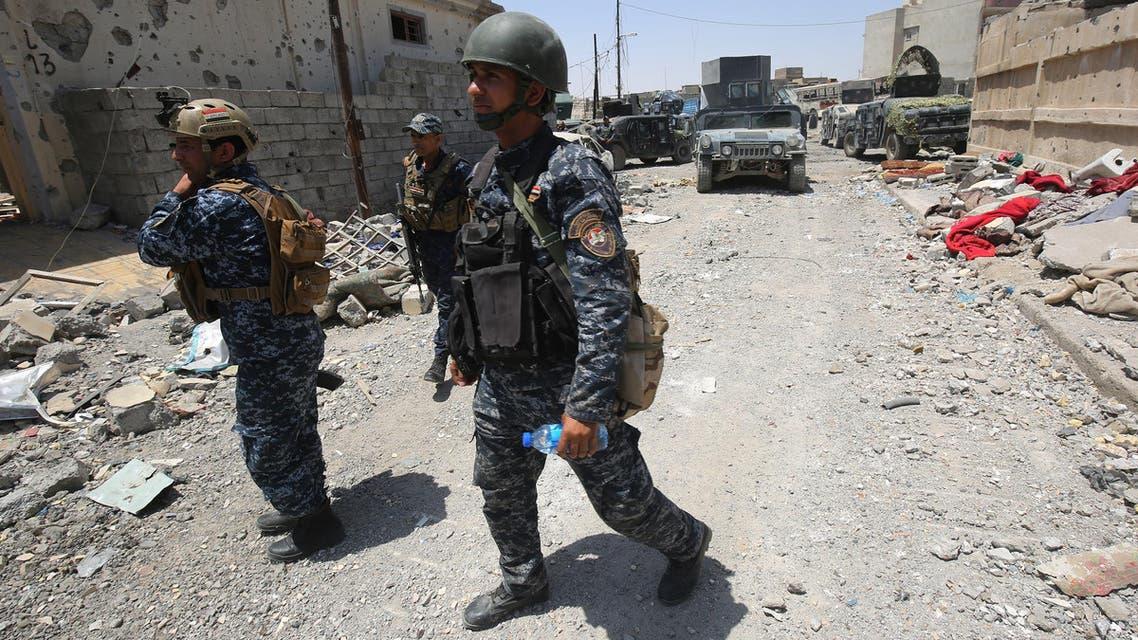 عناصر من القوات العراقية - الموصل 3