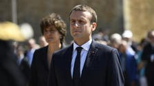 Macron: France ready to help Baghdad ease tensions with Kurdish region