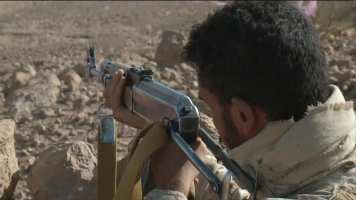 THUMBNAIL_ الجيش اليمني يسيطر على قمة جبل حام