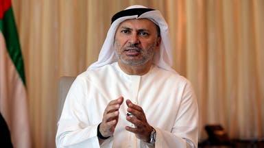 قرقاش: عودة السفير القطري لطهران تكشف تقية الدوحة