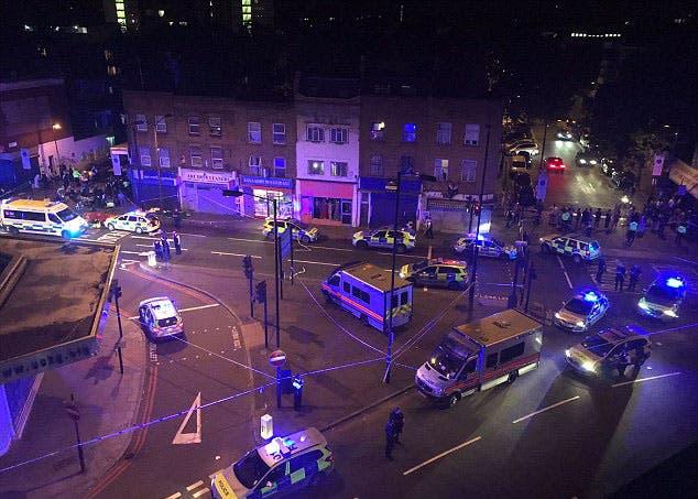 Image result for قتيل و8 جرحى في عملية دهس قرب مسجد شمال لندن