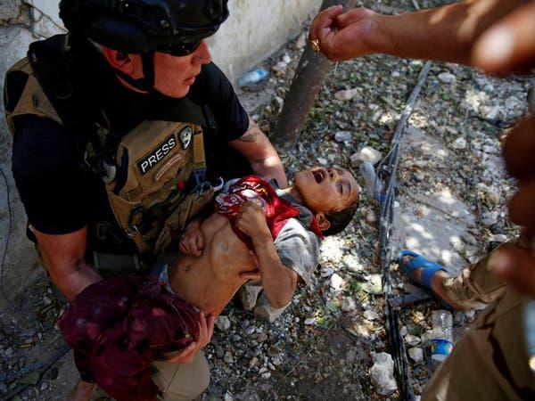 صورة من رحم المعاناة.. قطرات ماء تحيي طفلاً في الموصل