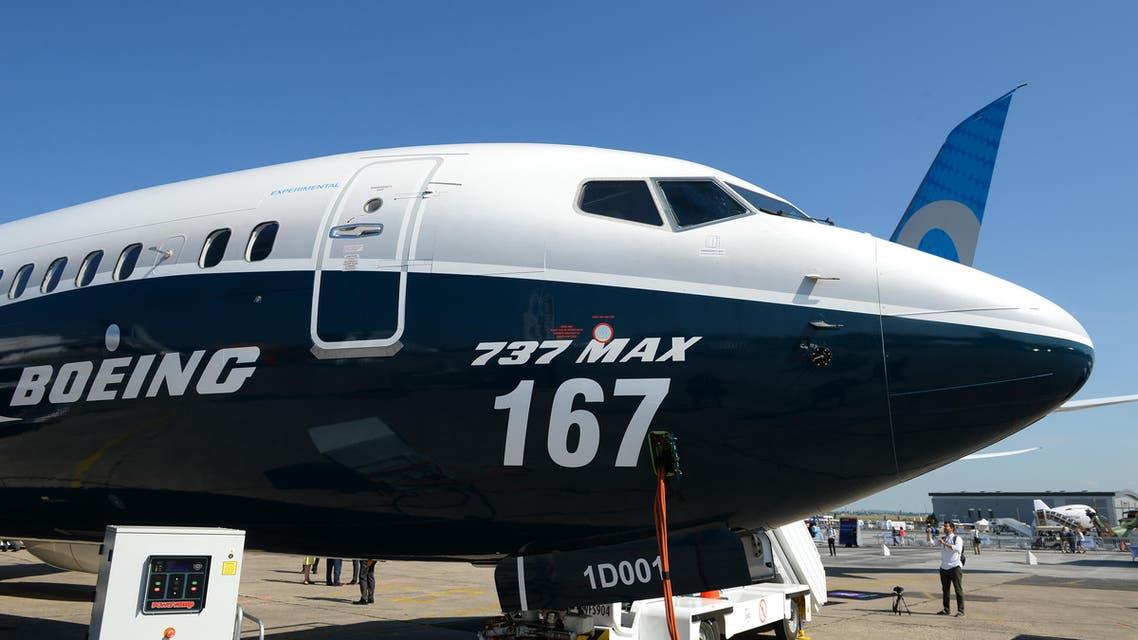 طائرة 737 ماكس من بوينغ
