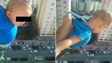 Algerian sentenced for dangling baby out of window 'to get 1,000 Facebook likes'
