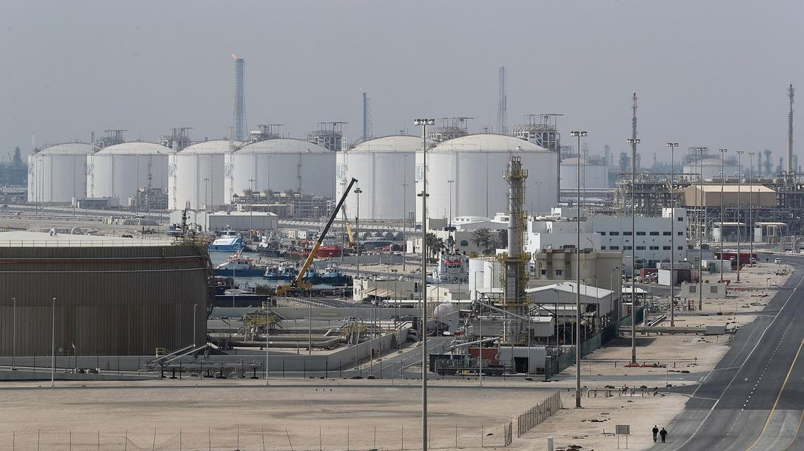This February 2017 file photo shows Ras Laffan Industrial City, Qatar's principal site for production of LNG and gas-to-liquid, north of Doha, on February 6, 2017. (Reuters)