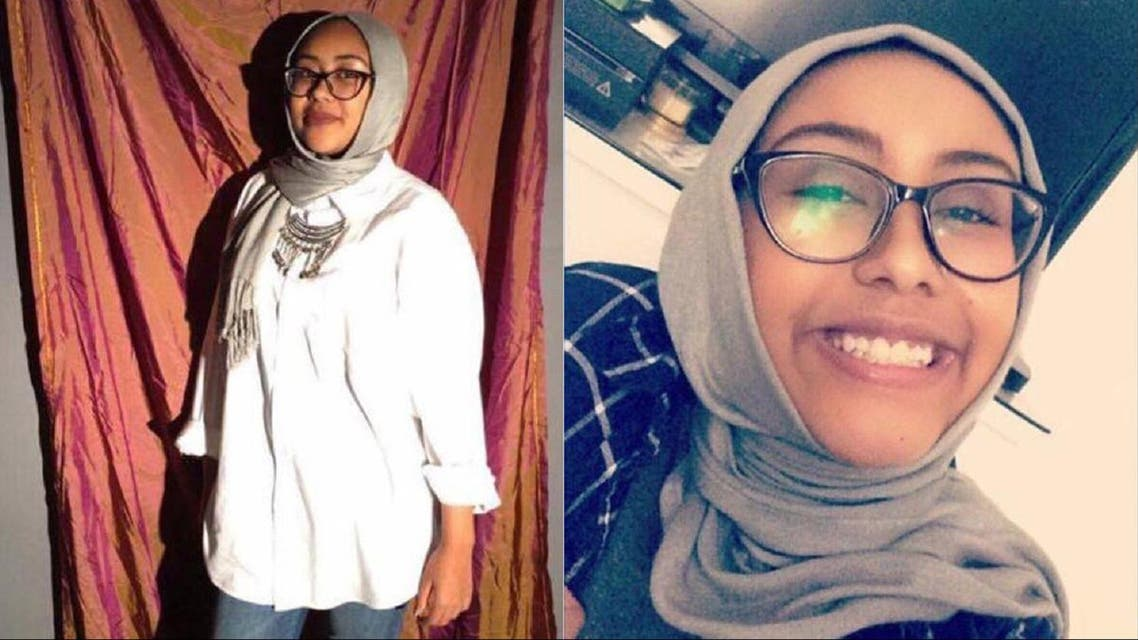 Nabra Hassanen, 17, was attacked early on Sunday in Sterling, Virginia.