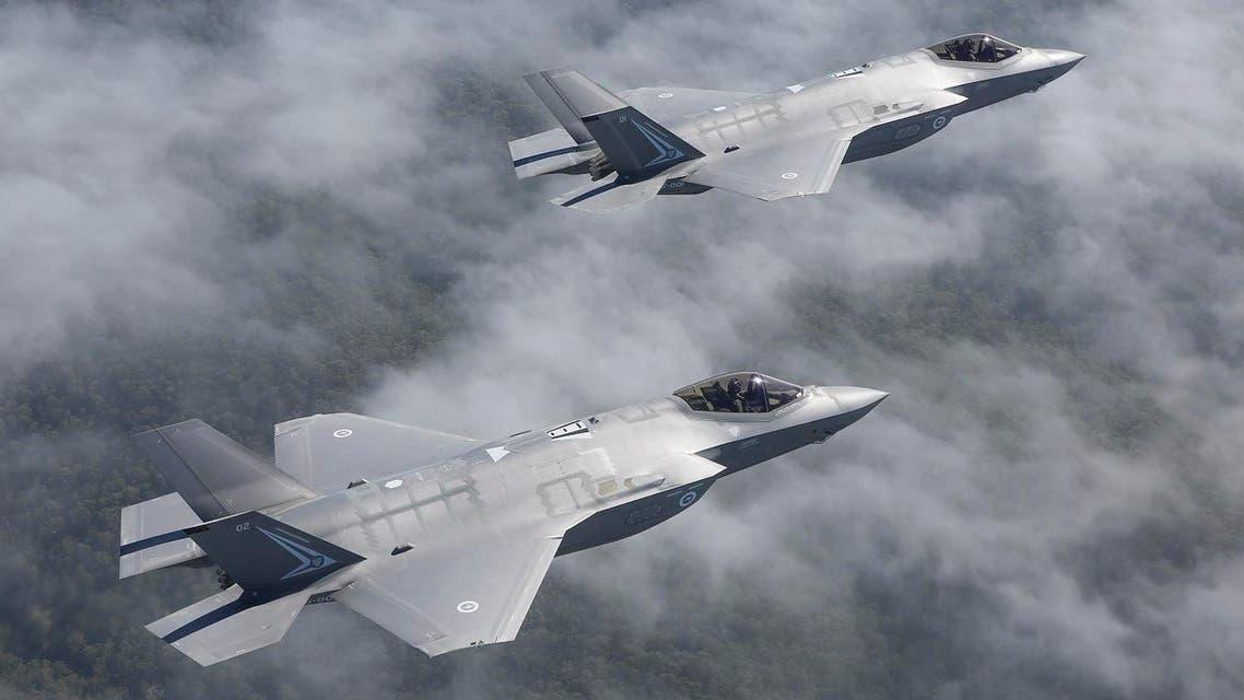 Royal Australian Air Forces first F-35A Lightening II aircraft. (AFP)