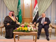 ولي ولي العهد يلتقي رئيس وزراء العراق