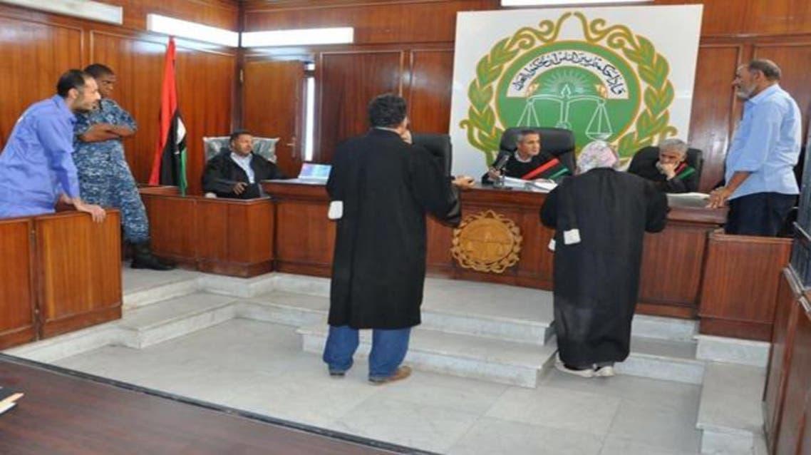 محكمة ليبية