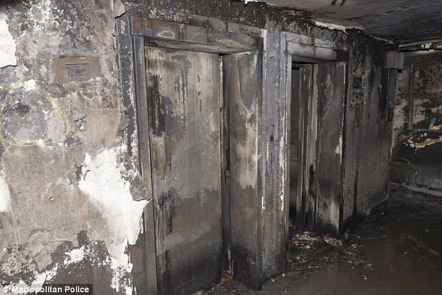 عشرات الضحايا قضوا في الحريق