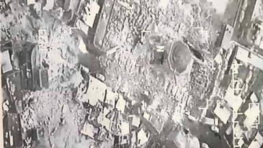 جريمة داعش بالموصل.. تفاصيل نسف مسجد النوري