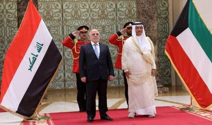 العبادي في الكويت