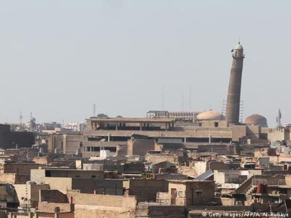 العبادي: تفجير داعش جامع النوري إعلان هزيمة