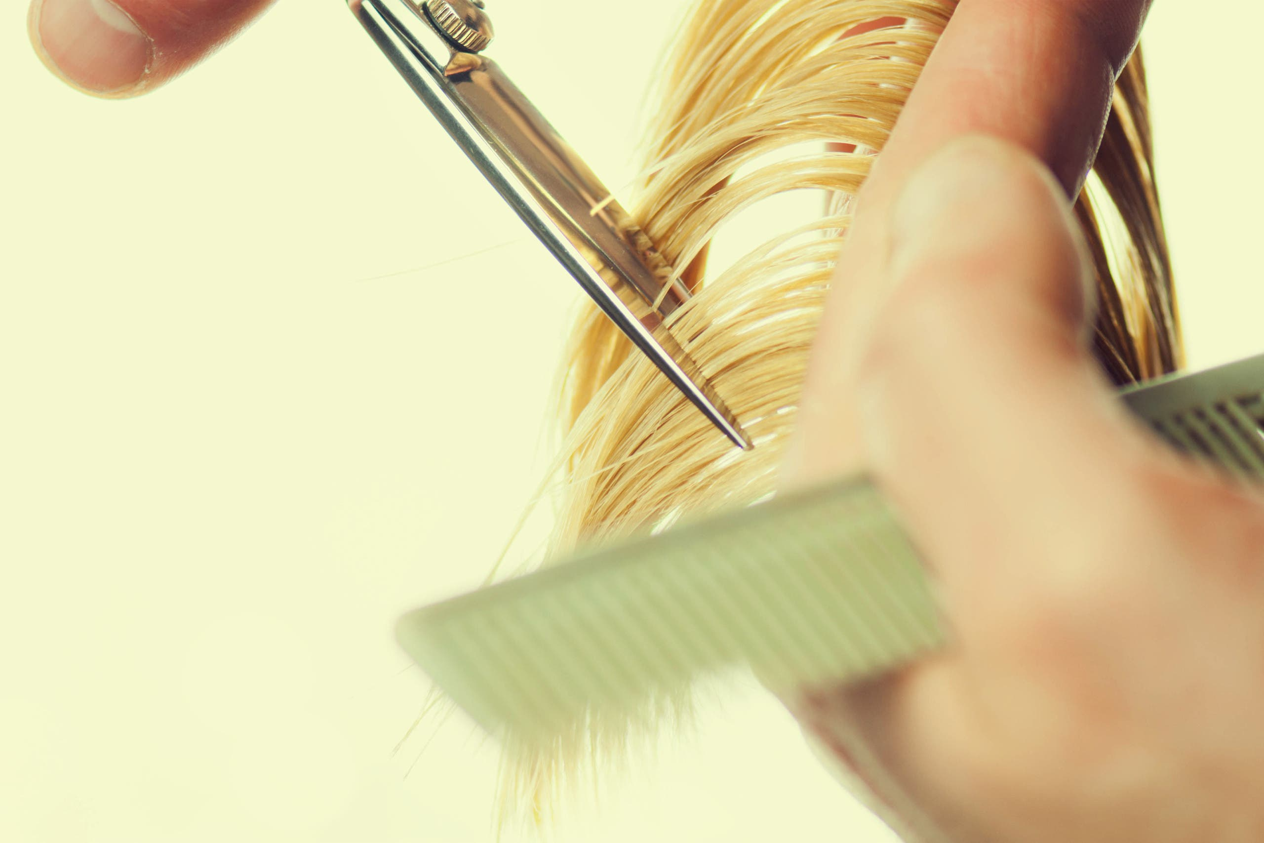 Cutting hair (shutterstock)