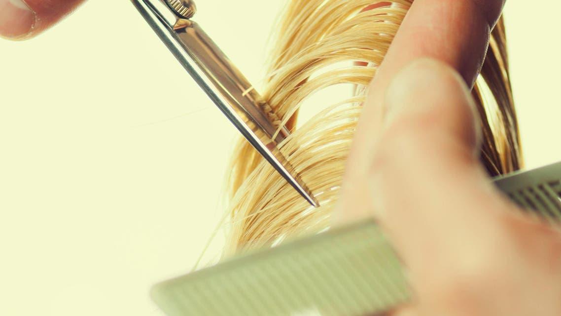 Cutting hair (shutterstock)