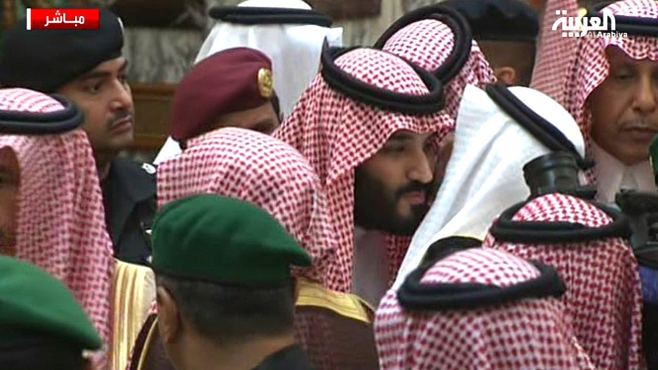 الأمير محمد بن سلمان يتلقى المبايعة
