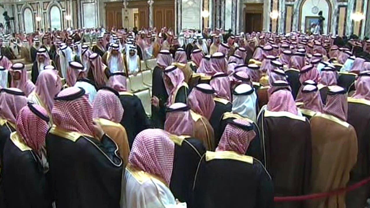 بدء مراسم بيعة الأمير محمد بن سلمان ولياً للعهد