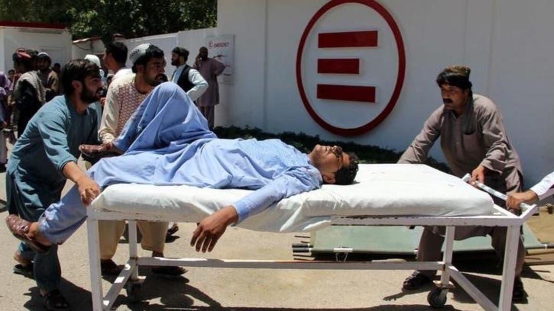 """ضحايا بـ""""مفخخة"""" استهدفت مصرفاً جنوب أفغانستان"""