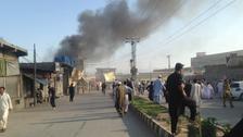 عشرات القتلى والجرحى في هجوم مزدوج شمالي باكستان