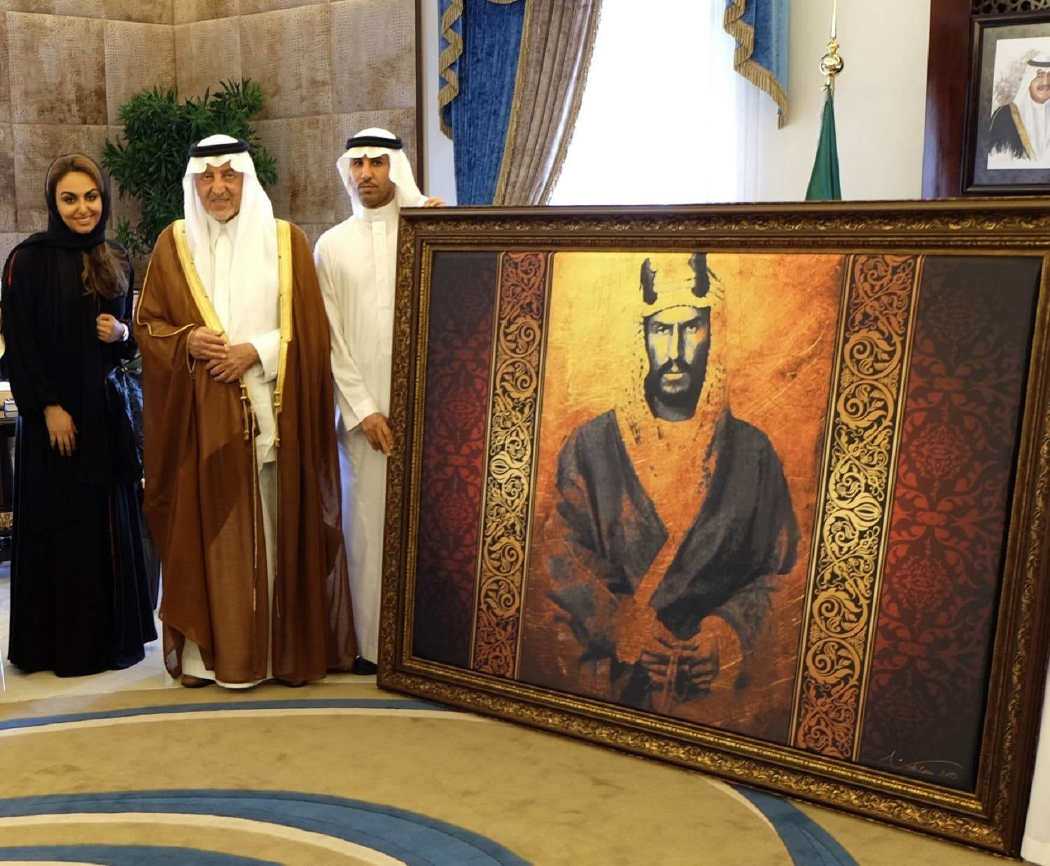 Abu al-Jadayel says she is proud of her work, which documents history and promotes patriotism. (Supplied)