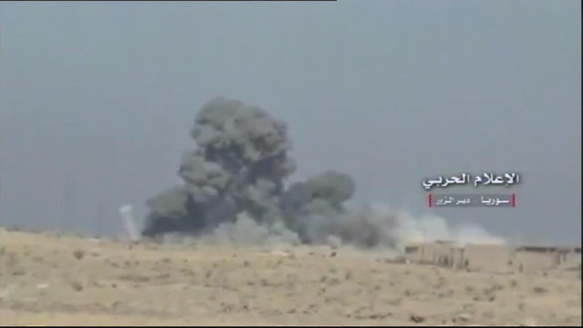 THUMBNAIL_ قوات النظام تتقدم في الجهة الجنوبية الشرقية من دير الزور