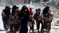 جنگ زدہ موصل سے سیکڑوں شہریوں کا بہ حفاظت انخلاء