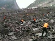 كارثة.. انزلاق للتربة في الصين يطمر 100 شخص
