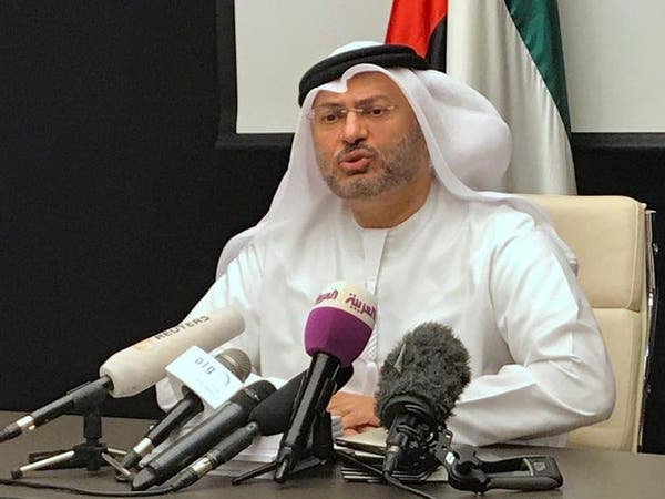 قرقاش: تحركات الإخوان في قطر تهدف لتغيير الأنظمة