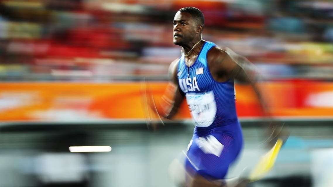 Gatlin, 35, claimed the victory in 9.95 seconds in his best performance of an injury-plagued season. AFP