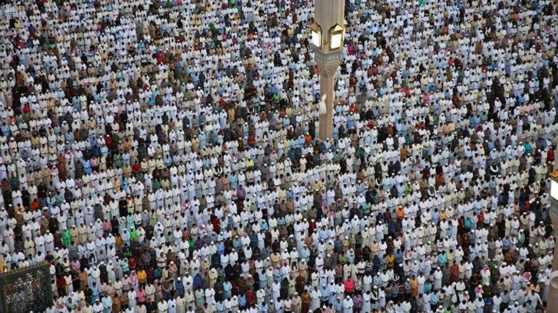 IN PICTURES: More than a million Muslims perform Eid prayers at Prophet's Mosque
