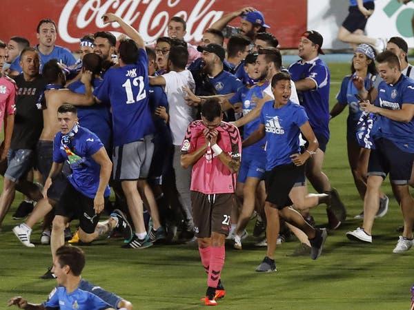 خيتافي يصعد إلى الدوري الإسباني