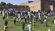 VIDEO: Six hurt as car 'ploughs into families gathering for Eid prayer' in UK