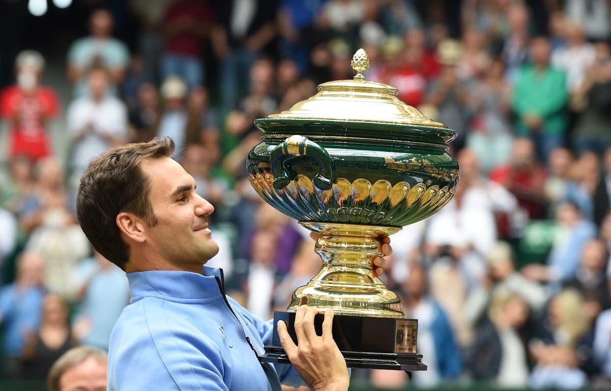 Roger Federer won the match against Alexander Zverev 6-1, 6-3. (AFP)