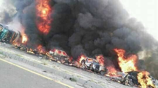 pakistan oil tanker explosion