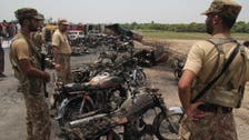 PM Sharif rushes home as Pakistan fuel truck fire death toll reaches 157