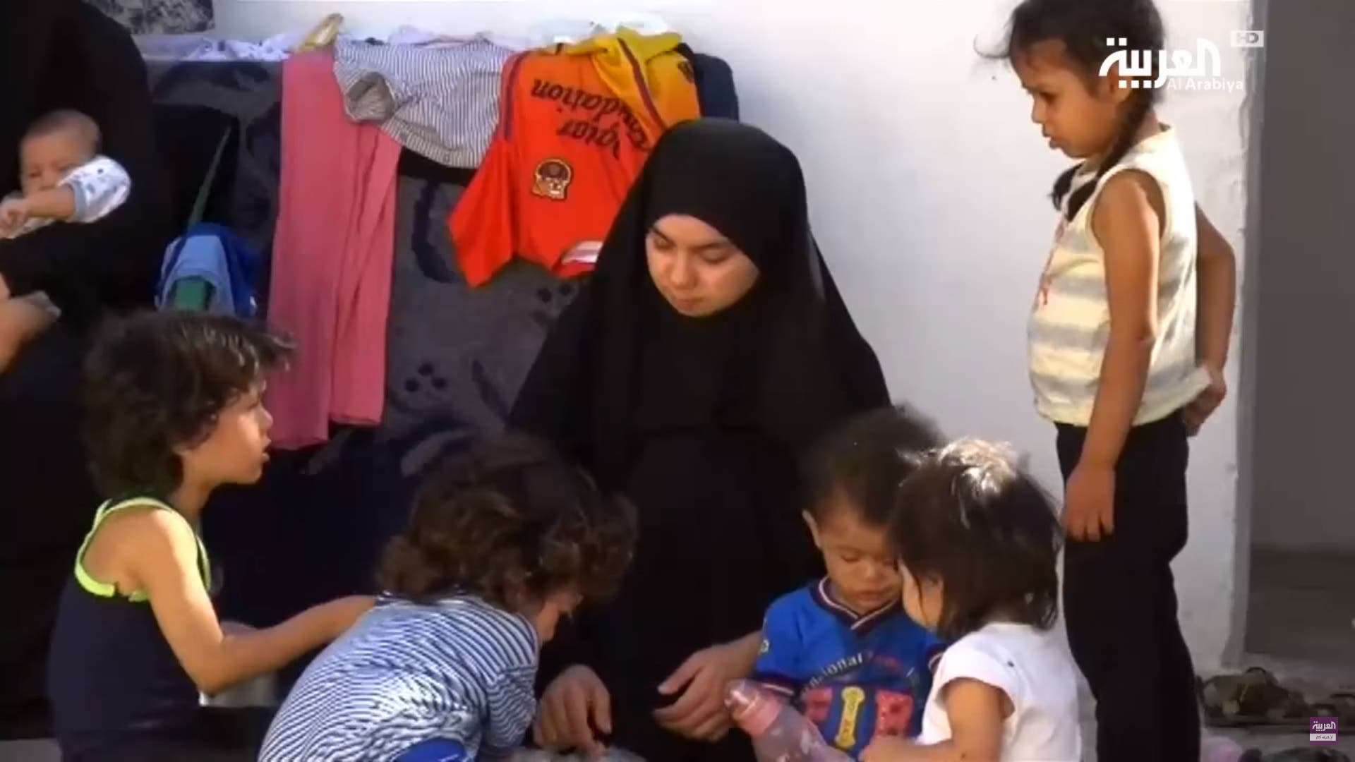 ISIS wives say desperate husbands helping them escape Raqqa