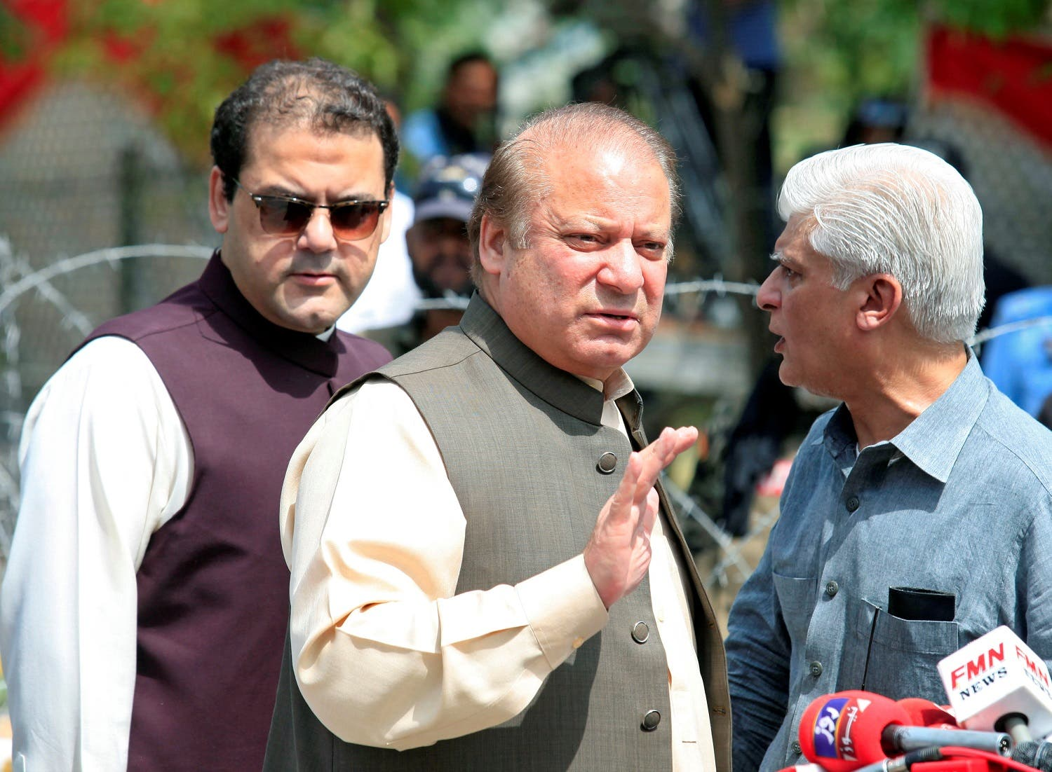 Sharif cut short his trip abroad and rushed back home, reaching Bahwalpur on Monday to visit the victims. (Reuters)