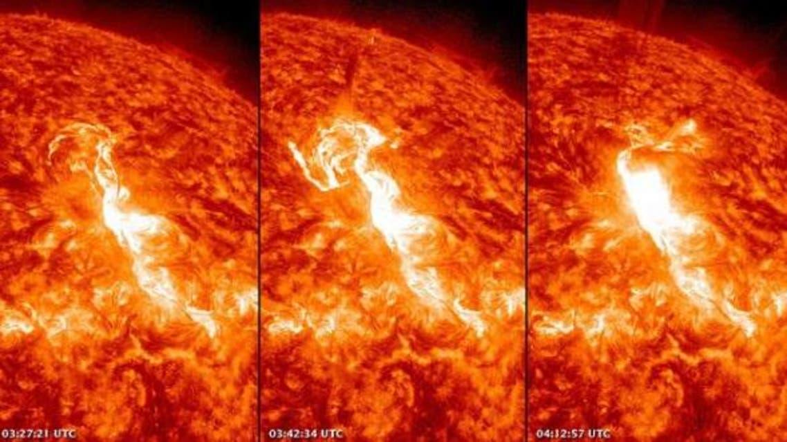 انفجارات شمسية